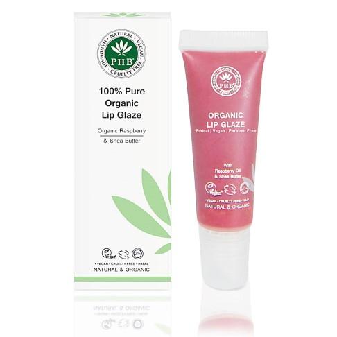 PHB Ethical Beauty 100% Pure Organic Lip Glaze: Raspberry