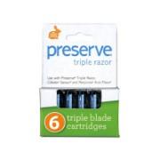 Preserve Triple Scheermes Navullingen (4 stuks)