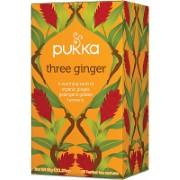 Pukka Three Ginger Bio Thee (20 zakjes)