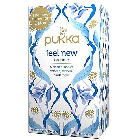 Pukka Feel New Thee (20 zakjes)