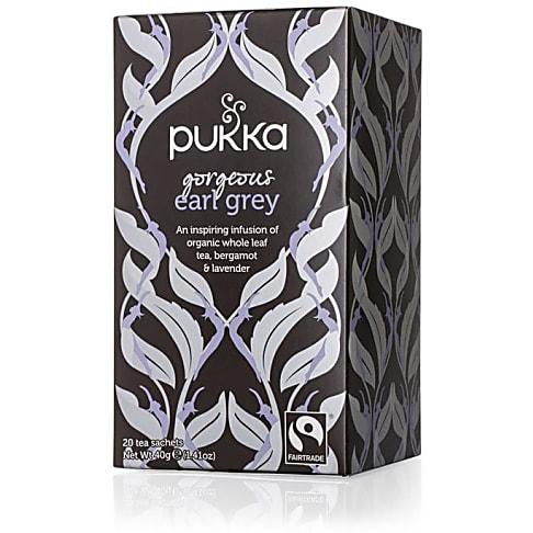 Pukka Organic Gorgeous Earl Grey Thee (20 zakjes)