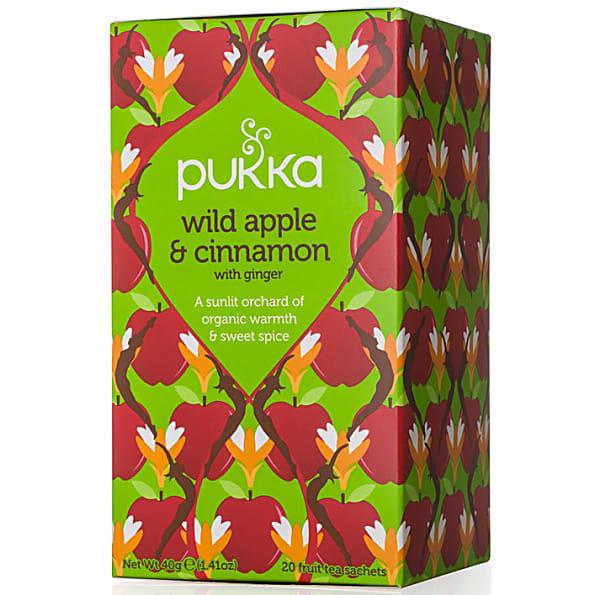 PUKKA THEE WILD APPLE and CINNAMON 20 ST