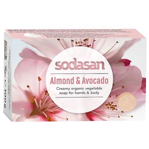 Sodasan Zeep Bar Amandel & Avocado 100g