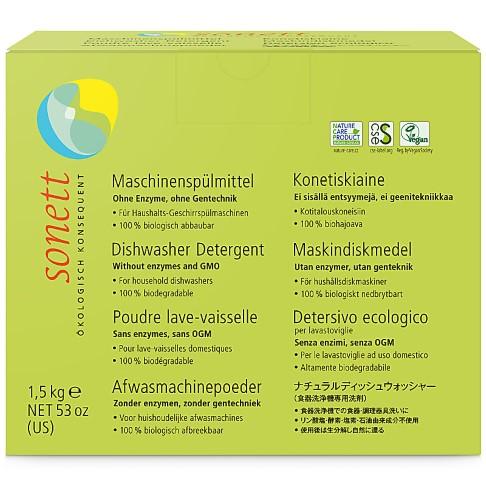 Sonett Vaatwaspoeder - 1.5kg