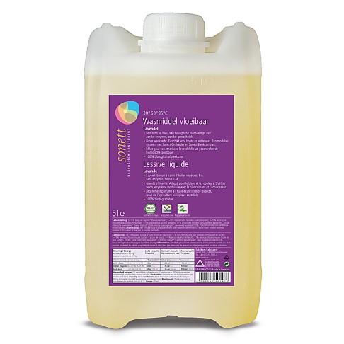 Sonett Vloeibaar Wasmiddel Lavendel - 5L
