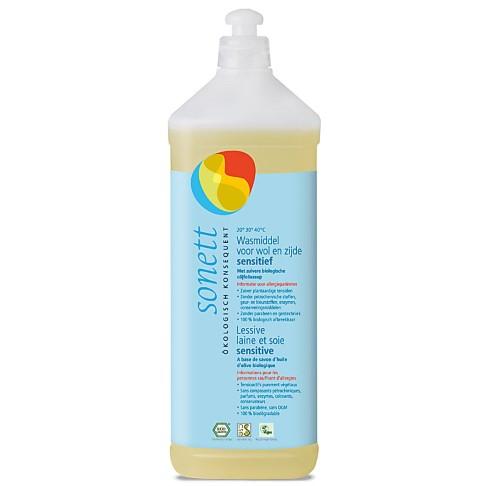 Sonett Wasmiddel voor Wol en Zijde Sensitive 1L (17 wasbeurten)