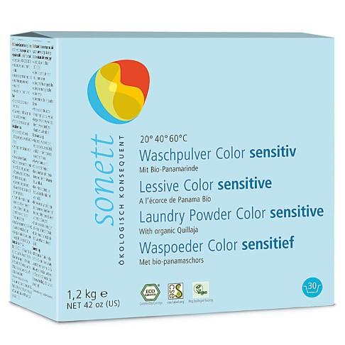 Sonett Waspoeder Sensitive - Colour 1.2kg (30 wasbeurten)