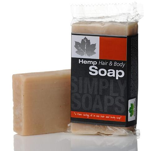 Simply Soaps Hemp Hair and Body Shampoo Bar