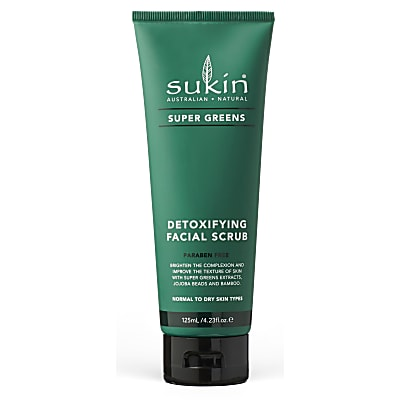 Sukin Super Greens Detoxifying Facial Scrub