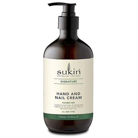 Sukin Hand & Nagelcrème (pomp) 500ml