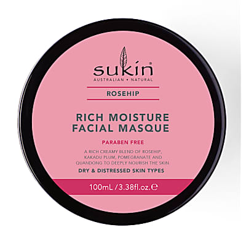 Sukin Rosehip Rich Moisture Facial Mask