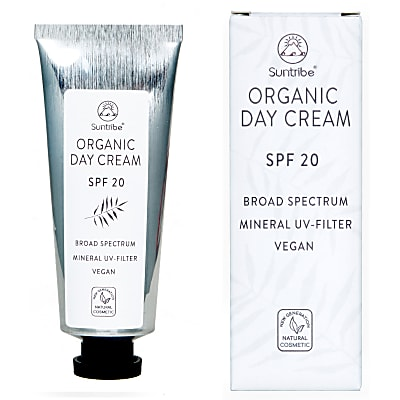 Suntribe Organic and Vegan Day Cream - SPF 20