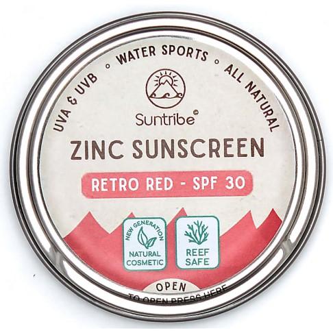 Suntribe Face SPF 30 Red