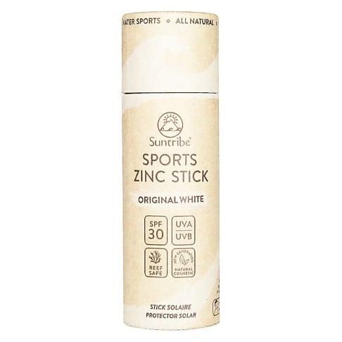 Suntribe Natuurlijke Sport Zinkstick SPF 30 - Original White