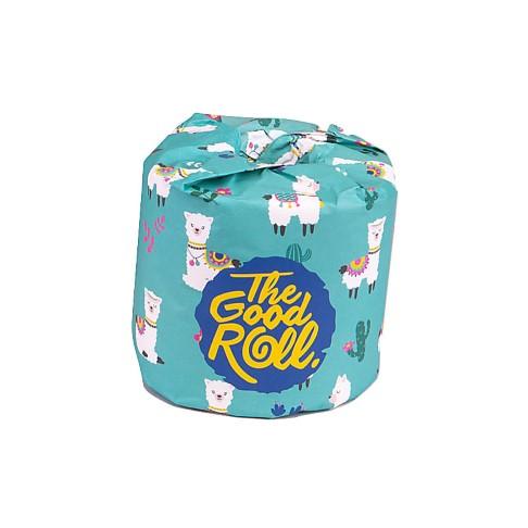 The Good Roll Plasticvrij Toiletpapier (1 Roll)