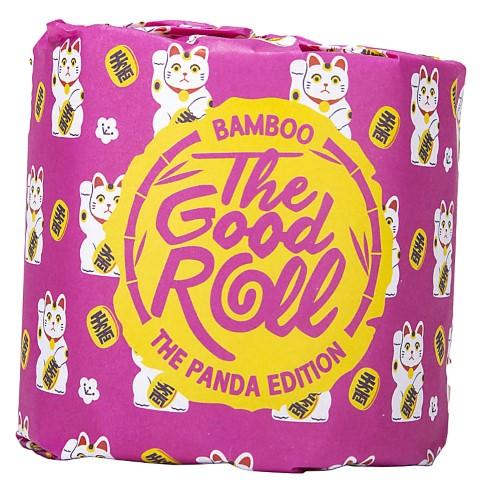 The Good Roll Panda Bamboe Toiletpapier (1 Rol)
