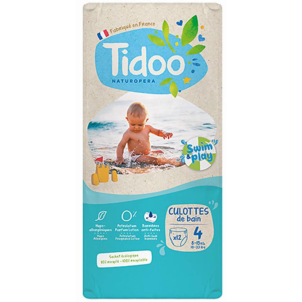 Tidoo Zwemluier Maat 4 8-15 kg 12 stuks