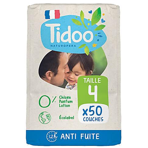 Tidoo Nature Luiers Maat 4 - Maxi (7-18kg)
