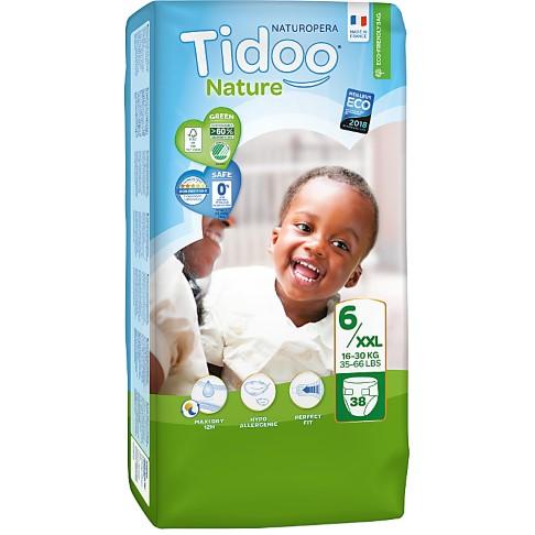 Tidoo Nature Luiers Maat 6 - XL (16-30kg)
