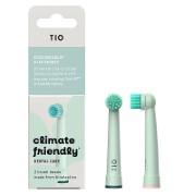 Tiomatik Opzetborstel voor Elektrische Tandenborstels - Lagoon Green