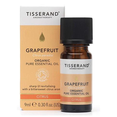 Tisserand Grapefruit Organic Essential Oil 9ml - vitaal