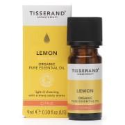 Tisserand Lemon Organic Essential Oil 9ml - verfrissend