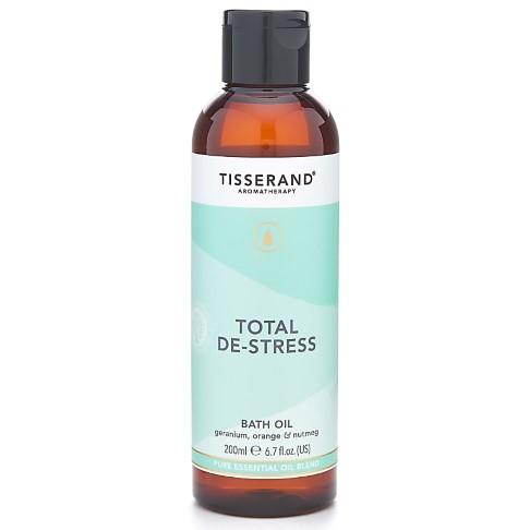 Tisserand Total De-Stress Bath Oil 200ml