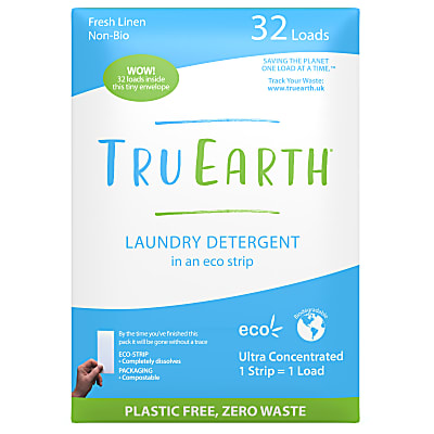 Tru Earth Eco Wasstrips Fresh Linen (32 wasbeurten)