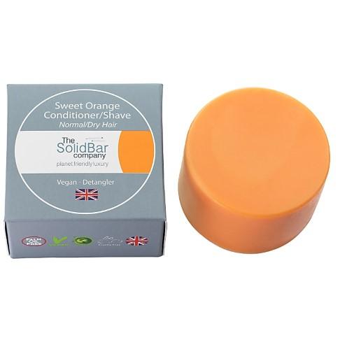 The Solid Bar Company Zoete Sinaasappel Conditioner (normaal & droog haar) - 34g