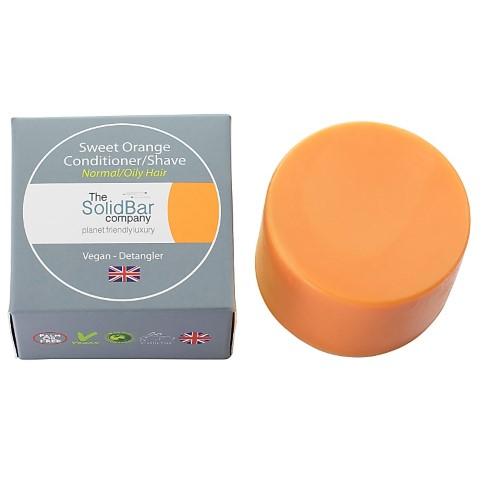The Solid Bar Company Zoete Sinaasappel Conditioner (vet haar) - 71g