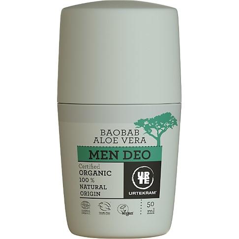 Urtekram Men Deo - Baobab Aloe Vera