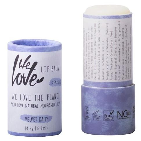 We Love The Planet Lippenbalsem Velvet Daily