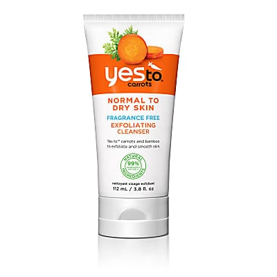 Yes To Carrots - Fragrance Free Exfoliating Facial Cleanser