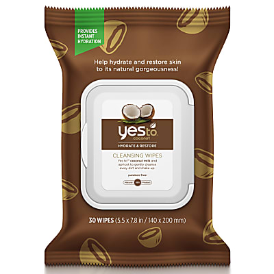 Yes To Coconut Cleansing Wipes (30 doekjes)