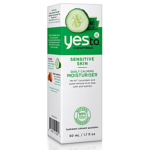 Yes To Cucumbers - Daily Calming Moisturiser