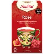 Yogi Tea Rose Bio Thee (17 zakjes)