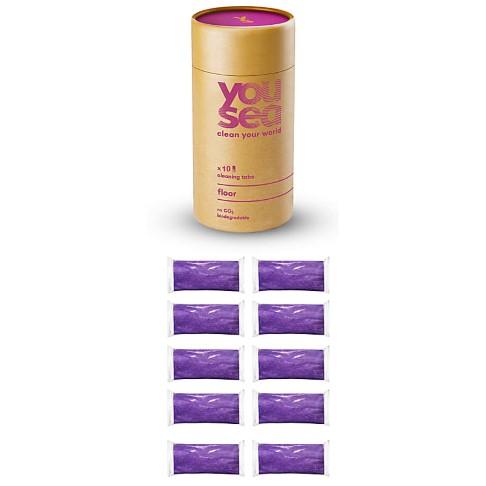 YouSea Eco Schoonmaak Tabs Vloer (10 tabs)