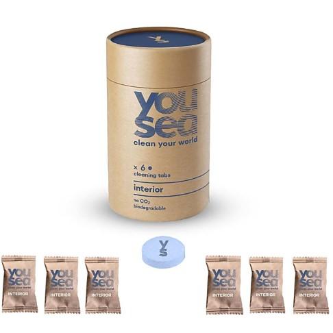 YouSea Eco Schoonmaak Eco-Xtabs Interieur Reiniger (6 tabs)