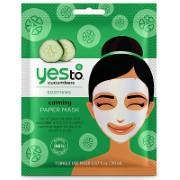 Yes to Cucumbers Kalmerend Papieren Masker