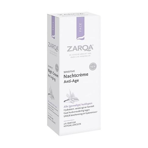 Zarqa Nachtcreme Anti-Age 50ml
