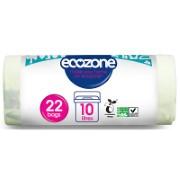 Ecozone Eco Afbreekbare Zakken 10L (22 zakken)