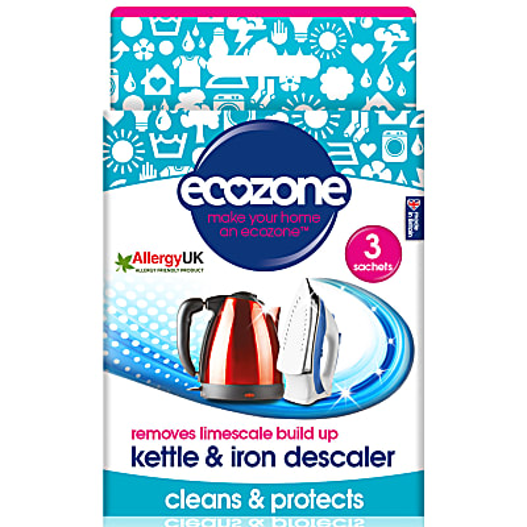 Ecozone Ontkalker voor Ketel en Strijkijzer