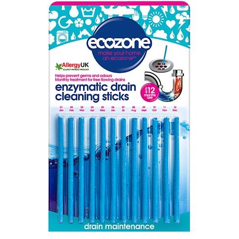 Ecozone Enzymen Ontstoppers - 12 stuks