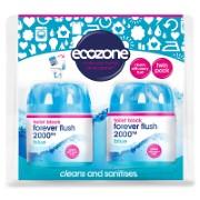 Ecozone Blijvend Toilet Blok 2000 - Blauw Duo Pack