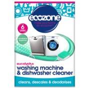 Ecozone Eucalyptus Wasmachine- & Vaatwas Machinereiniger (6 tabletten)