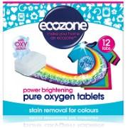 Ecozone Pure Oxygen Bleektabletten voor gekleurde was (12 tabs)