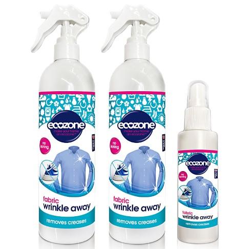 Ecozone Fabric Wrinkle Away Bundle - Parfumvrij